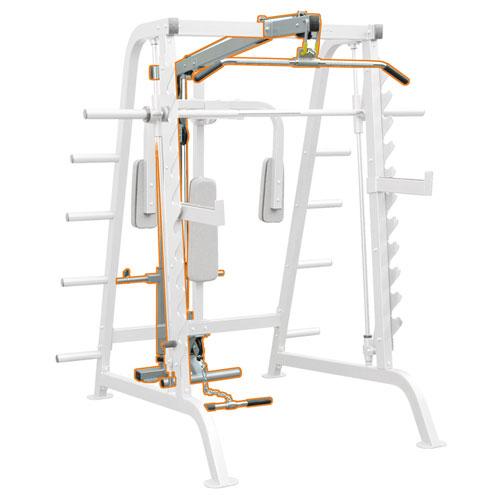 Impulse IFHCL Half Cage Attachment