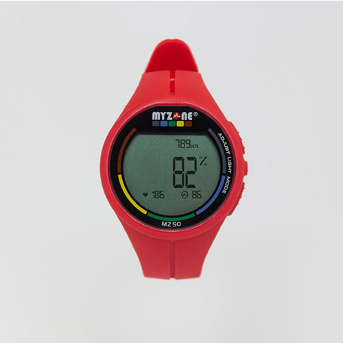 Myzone Watch Red