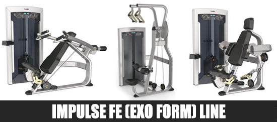 Impulse FE Line Gym Equipment