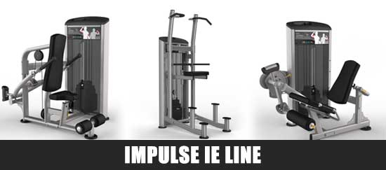 Impulse IE Line Gym Equipment
