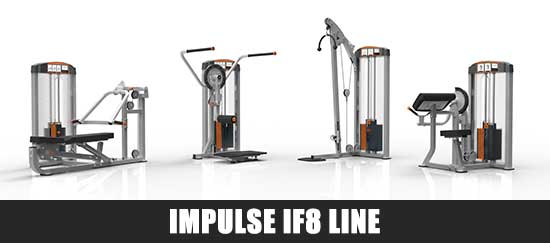 Impulse IF8 Line Gym Equipment