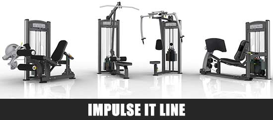 Impulse IT Line Gym Equipment