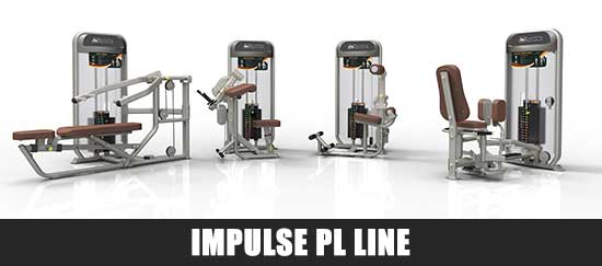 Impulse PL Line Gym Equipment