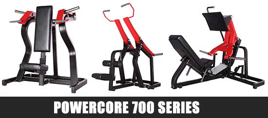 Powercore 700 Series Gym Equipment