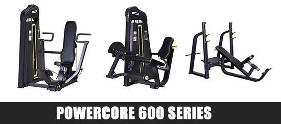 Powercore 600 Series Gym Equipment