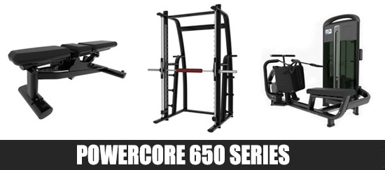 Powercore 650 Series Gym Equipment