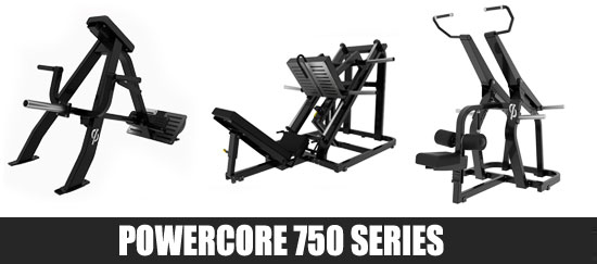 Powercore 750 Series Gym Equipment