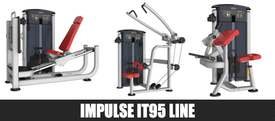 Impulse IT95 Line Gym Equipment