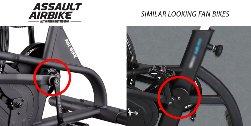 Assault Air Bike Vs Similar Looking Bikes