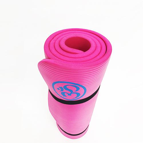 pink foam mat