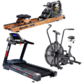 assault airbik xpl1000 treadmill apollo water rower