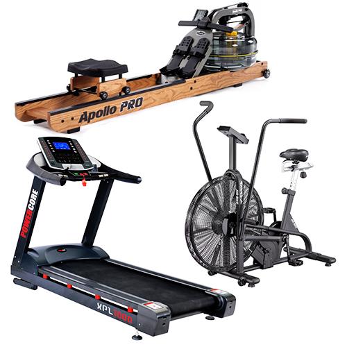 assault airbik xpl1000 treadmill apollo water rower