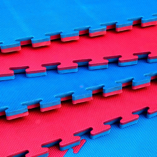Gym Mats South Africa: FLOORING: FOAM (1M2 X 3CM) RED / BLUE