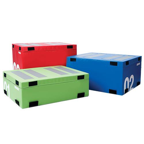 Soft plyo boxes
