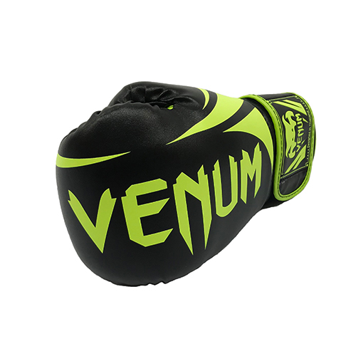 Venum green & black boxing glove