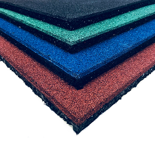 Gym Mats South Africa: 25mm Thick Rubber Flooring (Coloured) UV RESISTANT