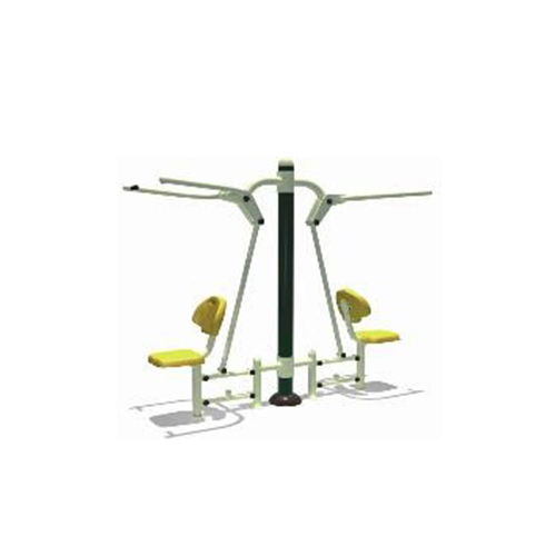 2 Person sitting and pulling exerciser