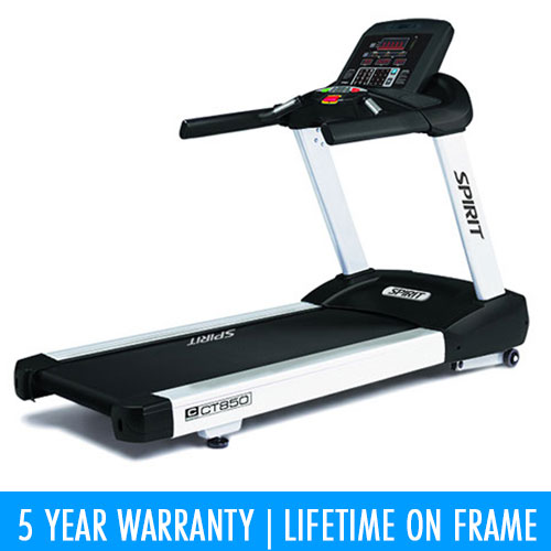 SPIRIT FITNESS: TREADMILL CT850 [COMMERCIAL] [PHP 8.0HP AC, MAX SPEED 20KM/H]-1