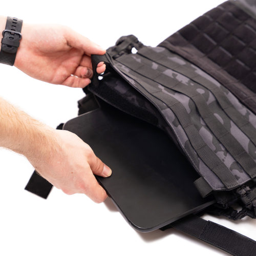 MiFitness: Tactical Weight Vest [PLATES ONLY] [2X3KG]